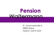 Pension Waltermann